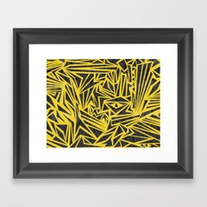 Vertigo Pattern Framed Art Print