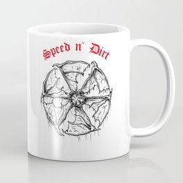 Speed and Dirt Coffee Mug