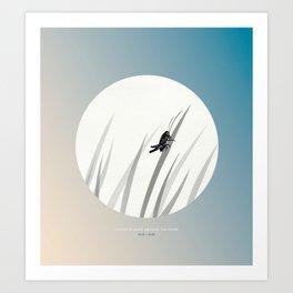 [10.18—10.22] Crickets Chirp Around the Door Art Print