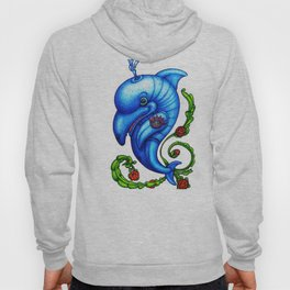 Dolphin Blue Hoody