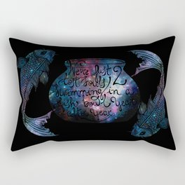 Two Lost Souls... Rectangular Pillow