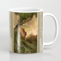 wind Mugs featuring Wind by Iris V.