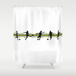 Matildas Diehard Shower Curtain