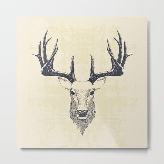 Marchelious-RL Deer Metal Print