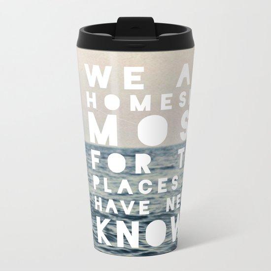 Homesick Metal Travel Mug