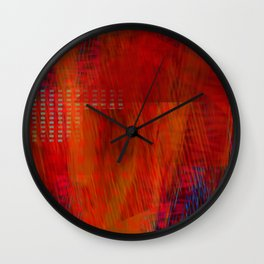 Burning Down the House Wall Clock