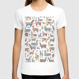 Llamas and Alpacas T-shirt