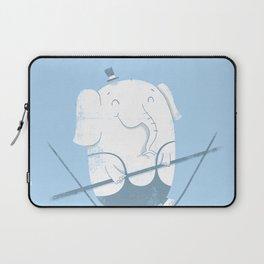 Elephants Balancing Act Laptop Sleeve