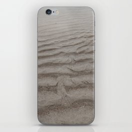 Ripples of Sand at the Shore iPhone Skin