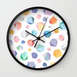 Poligons Wall Clock