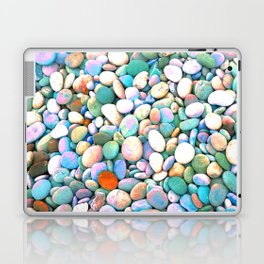 PEBBLES ON THE BEACH Laptop & iPad Skin