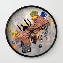 Culturaly Strong! Wall Clock