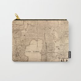 Map Of Lake Tahoe 1874 Carry-All Pouch