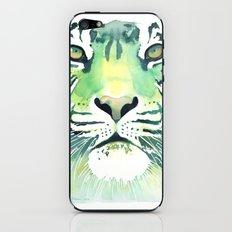 Green Tiger iPhone & iPod Skin