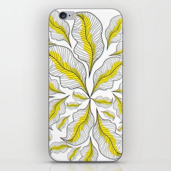 yellow---line iPhone & iPod Skin
