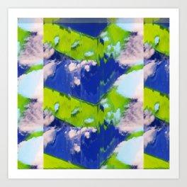 Psychic Planet Art Print
