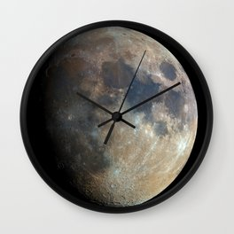 Moon Phase Poster Wall Art High Quality Moon Print Wall Clock