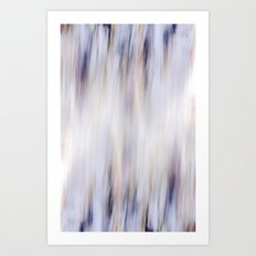 Washed out blue Art Print