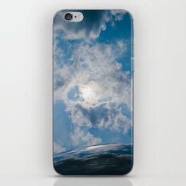 Afternoon Sky with Chicago Cloud Gate iPhone Skin