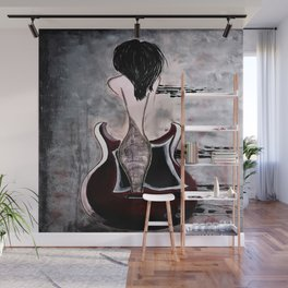 Relentless Rhythm. Illustrated for the book by author Michelle Mankin Wall Mural