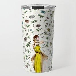 Paris Summer | The Flower Girl Travel Mug