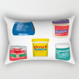 Pressing Oils Rectangular Pillow