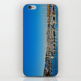 The Boats of Howth Harbor iPhone Skin