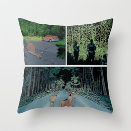 Print No. 2 from Natalie Unseen No. 2 Throw Pillow