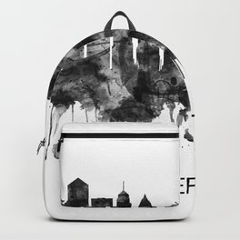 Berlin Germany Skyline BW Backpack