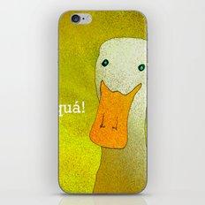 White Duck! iPhone & iPod Skin