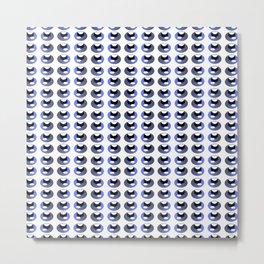 octopus eyes, animal pattern Metal Print