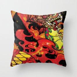 Sun Guardian Throw Pillow