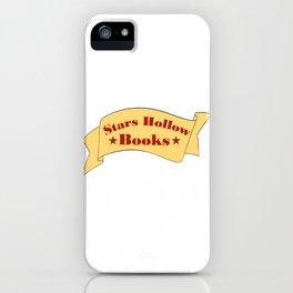 Stars Hollow Books iPhone Case