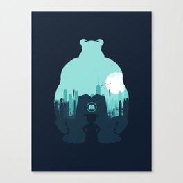 Welcome To Monsters, Inc. Canvas Print