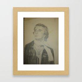 Pencil Drawing View Version 3 Framed Art Print