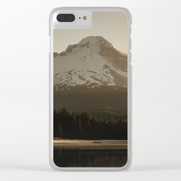 Mount Hood Adventure IV Clear iPhone Case