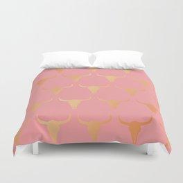 Pink western Duvet Cover