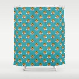 Felis Ferox Shower Curtain