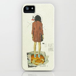 It Always Happens | Collage iPhone Case