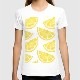 Pattern with slices of lemon T-shirt