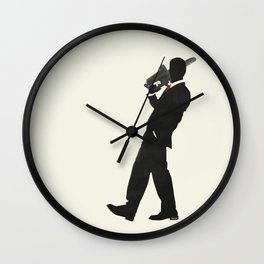 Just another day at the office Wall Clock