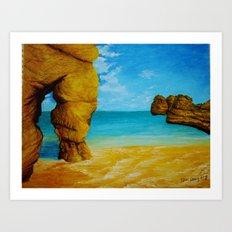 Beach 1 Art Print