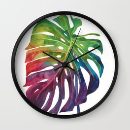 Leaf vol 1 Wall Clock