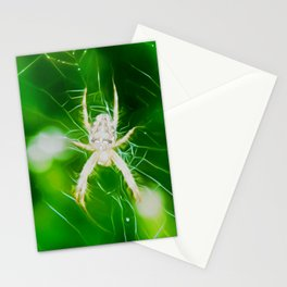 Crusader Garden Art Two Stationery Cards