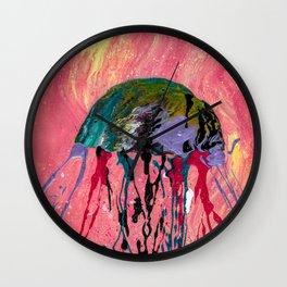 Jammin' Jellyfish Wall Clock