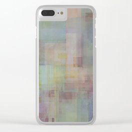Abstract Geometry NO. 23 Clear iPhone Case