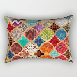 V34 Epic Traditional Colored Artwork Rectangular Pillow