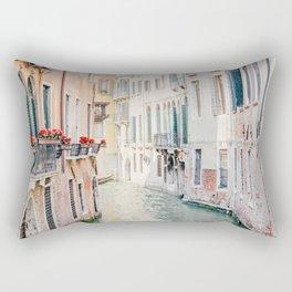 Venice Morning - Italy Travel Photography Rectangular Pillow
