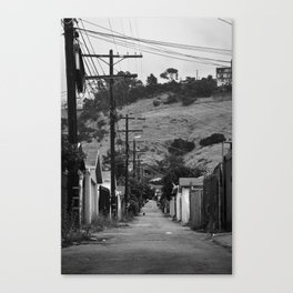 Cypress Park Alley Canvas Print