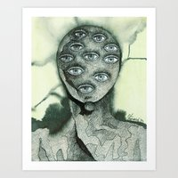 One look would have been sufficient Art Print
